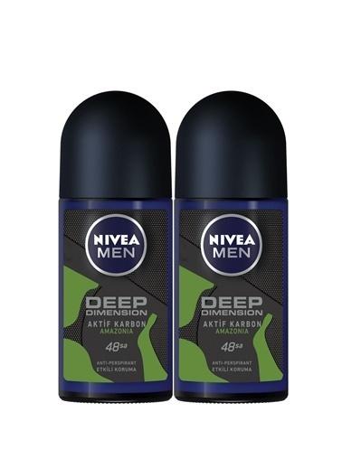 Nivea Men Dry Fresh Deodorant Roll-On 50 Ml 2'Li Renkli